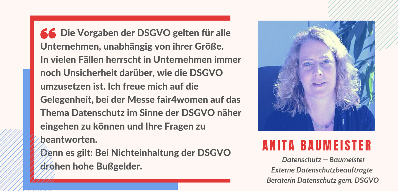 Anita Baumeister - Statement fair4women